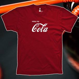 Camiseta Enjoy my cola
