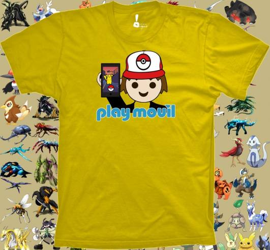 Camiseta Play movil
