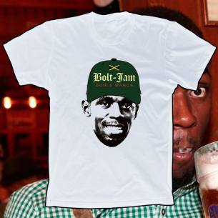 Camiseta Bolt - JAM, doble marca.