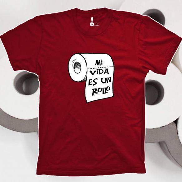 Camiseta Mi vida es un rollo