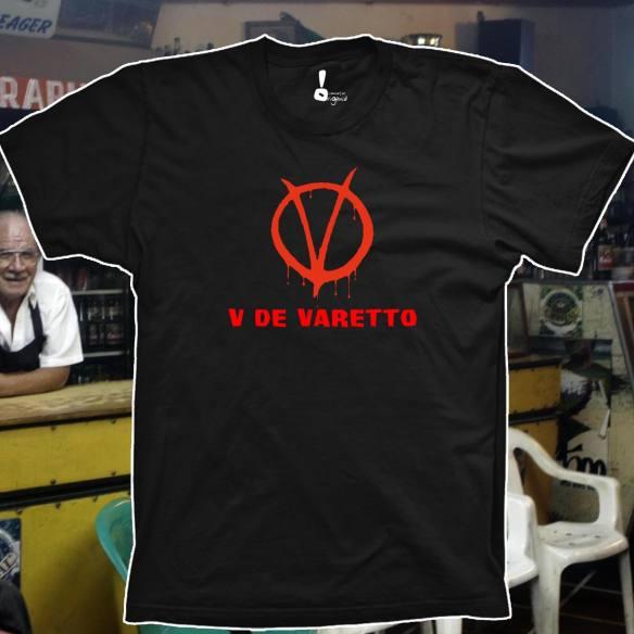 Camiseta V de Varetto