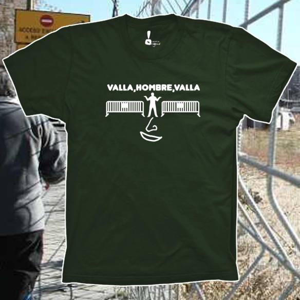 Camiseta Valla, hombre, valla