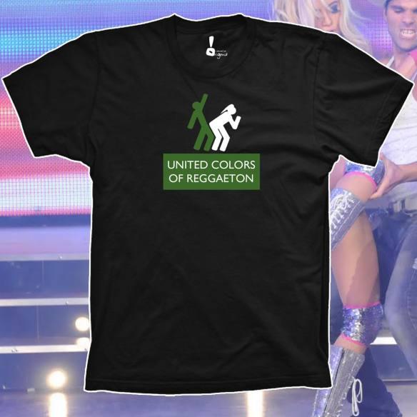 Camiseta United Colours of Reggaeton