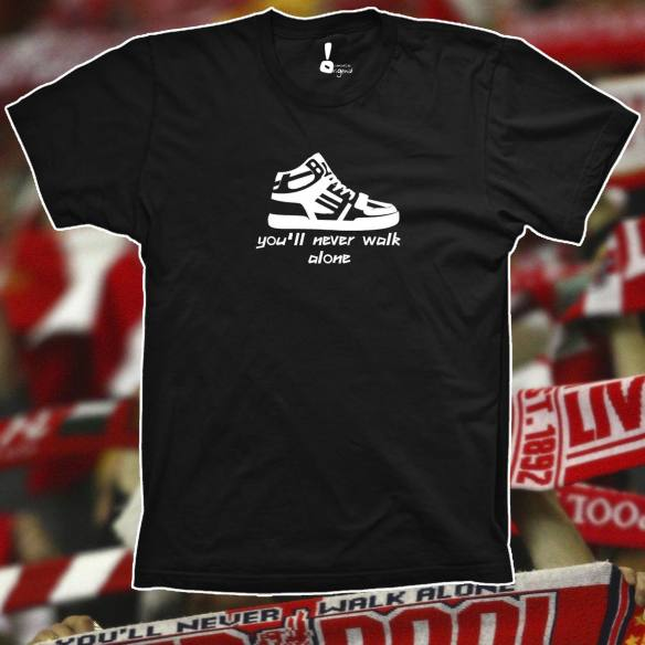 Camiseta You´ll never walk alone