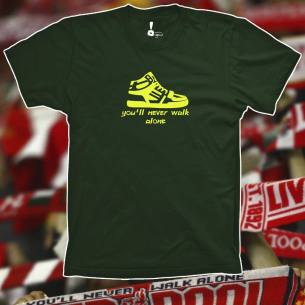 Camiseta You´ll never walk alone