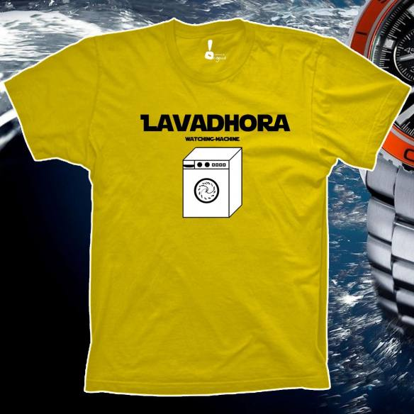 Camiseta Lavadhora