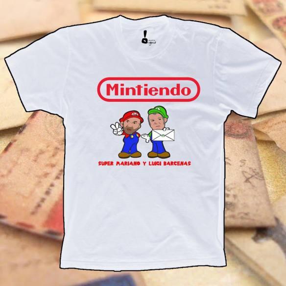 Camiseta Mintiendo