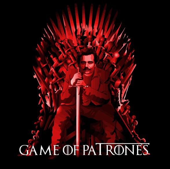 Camiseta Game of Patrones
