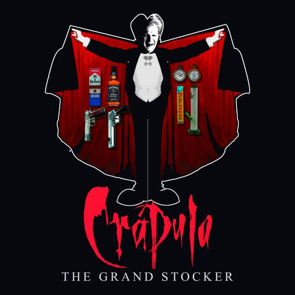 Camiseta Crápula The Grand Stocker