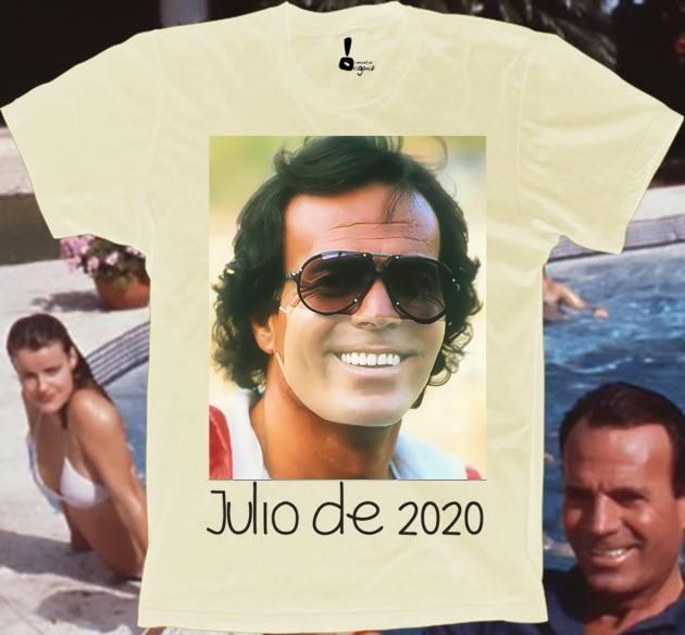 julio iglesias camiseta sin mascarilla