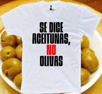 Aceitunas, no olivas