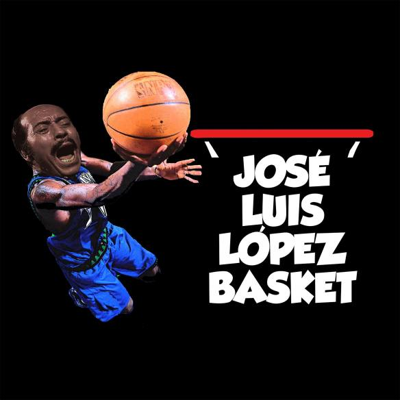 Camiseta José Luis López Vazquez Basket