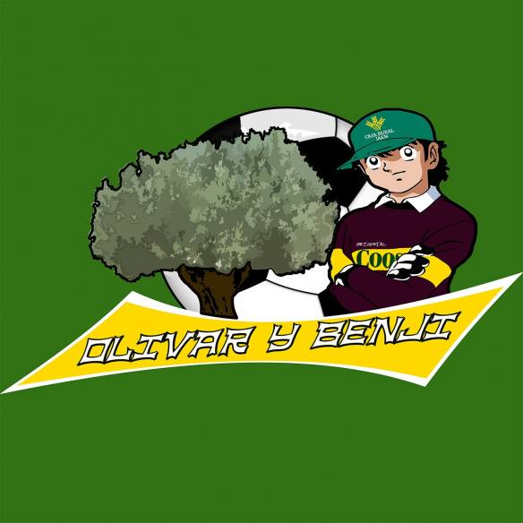 Camiseta Olivar y Benji