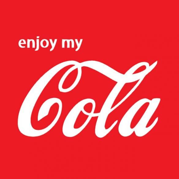 Camiseta Enjoy my cola