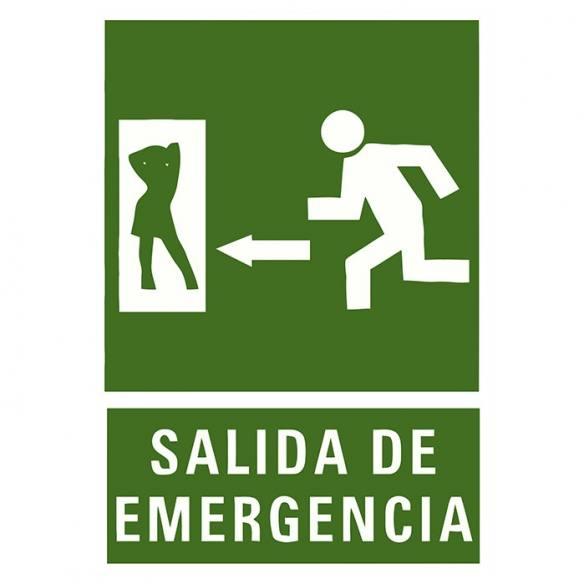 Camiseta Salida de Emergencia